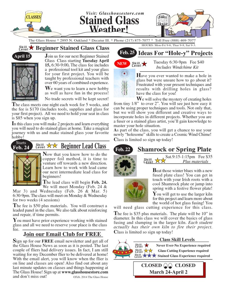 thumbnail of 2014_02 Page 1 Stained Glass Sale Flier