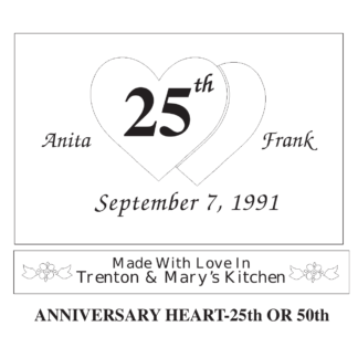 etched pyrex baking dish anniversary heart design