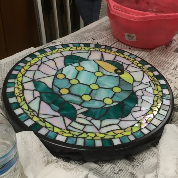 Mosaic Table Class Project