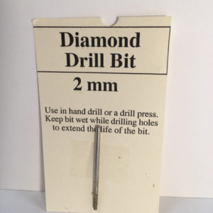 2 mm Diamond Glass Drill Bit