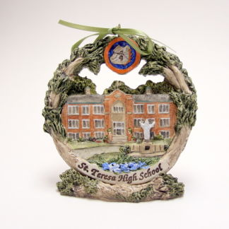 St. Theresa High School Christmas Ornament