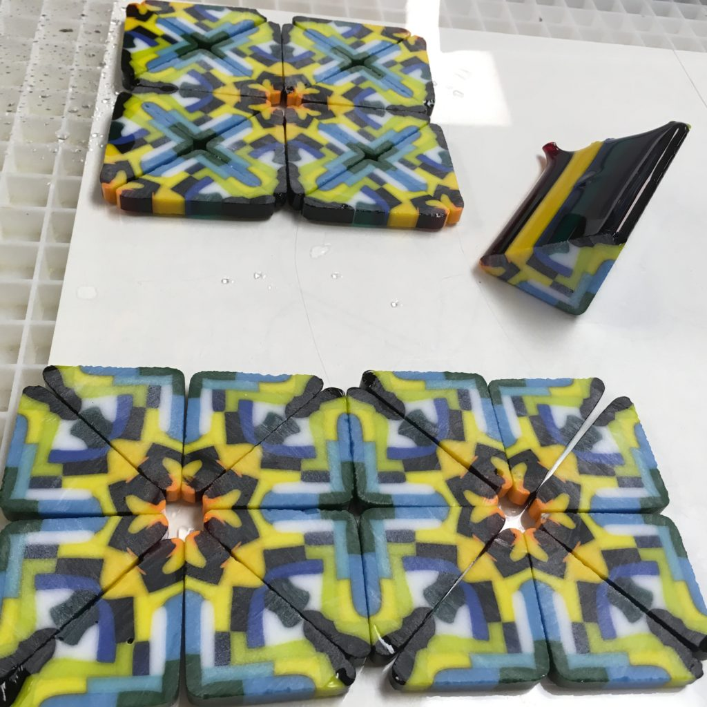 Fused Pattern Bar Slices