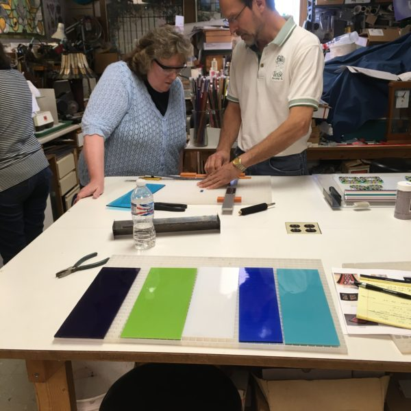 Fused pattern class guidance from instructor Steve Trebacz