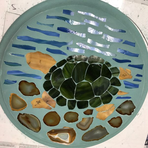Turtle DiamondCrete Stepping Stone Class Project