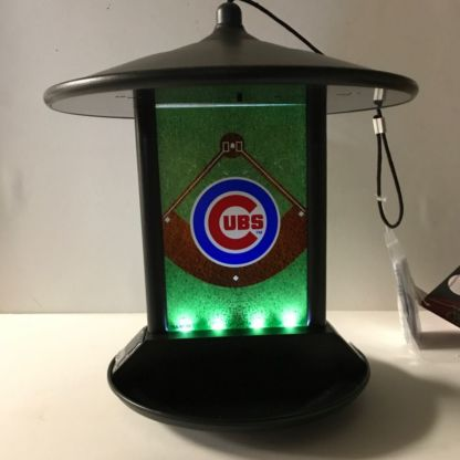 Lighted Cubs Solar Bird Feeder