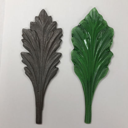 LF-9 Glass Leaf Slumping Mold w/ Example