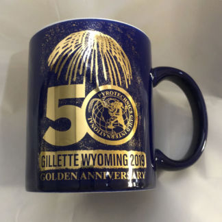 PGI 50th Anniversary Gold Coffee Mug