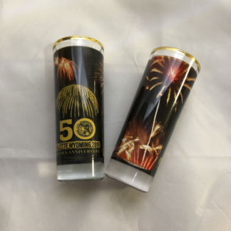 Pyro 50th Anniversary Shooters Glass